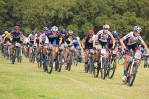 Menlonpark riders leading the pack