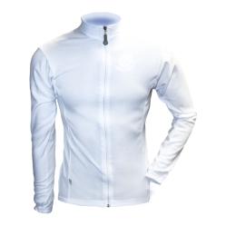 Men's White Thermovent Long Sleeve